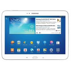 Samsung Galaxy Tab 3 GT-P5210 10.1'' - Android 4.0 - 16Go - Blanc - Tablette Multimédia Tactile