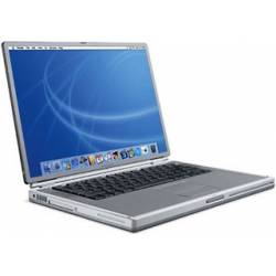 "Apple PowerBook G4 1.67GHz 17"" A1107 (PowerBook5,7) - Ordinateur Portable Apple Vintage"