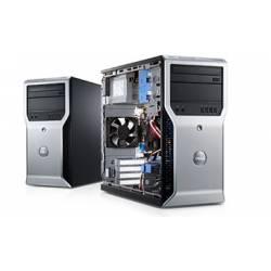 Dell Precision T1500 - Windows 10 - i7 4GB 250GB - Clavier/Souris - Ordinateur Tour Workstation PC