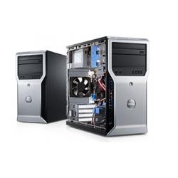 Dell Precision T1500 - Windows 10 - i7 8GB 500GB - Clavier/Souris - Ordinateur Tour Workstation PC
