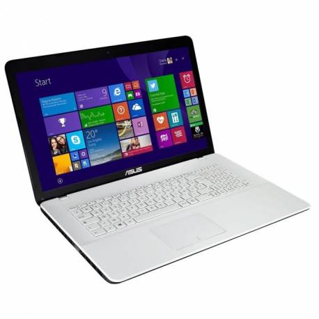 Asus X751LN-TY042H - Windows 8 - i3 6Go 1000Go - GT840M - Webcam - 17.3 - Blanc - Ordinateur Portable PC