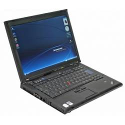 "IBM Lenovo ThinkPad T61 - Windows XP - C2D 2GB 80GB - 15.4"" - Ordinateur Portable PC"