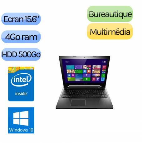 LENOVO Z50-70 - Windows 10 - 3558U 4Go 500Go - 820M - Webcam - 15.6 - Ordinateur Portable PC