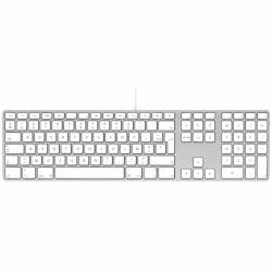 Clavier Apple AZERTY Filaire USB A1243 EMC No 2171 Mac - A1243 (EMC 2171)