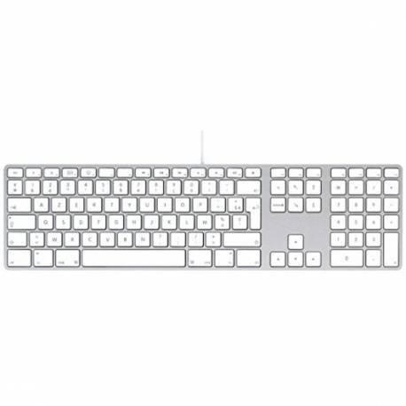 Clavier Apple AZERTY Filaire USB A1243 EMC No 2171 Mac - A1243 (EMC 2171)
