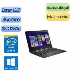 Asus UX305CA-FC049T - Windows 10 - m3 4Go 128Go SSD - Webcam - 13.3 - Ordinateur Portable PC