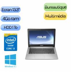 Asus UX302LA-FN036H - Windows 8.1 - i3 4Go 1000Go - Webcam - 13.3 - Ordinateur Portable PC