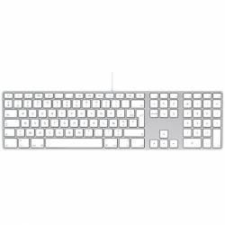 Clavier Apple Qwertz Filaire USB A1243 EMC No 2171 Mac - A1243 (EMC 2171)