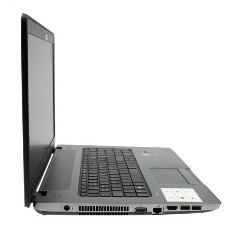 HP ProBook 470 G1 - Windows 10 - i3 4Go 500Go - 17 - Webcam - 8750M - Ordinateur portable reconditionné