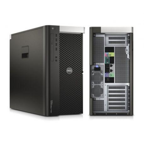 Dell Precision T7610 - Windows 10 - E5-2650v2 16GB 240GB SSD - Ordinateur Tour Workstation PC