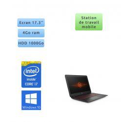 HP OMEN 17-W010NF - Windows 10 - i7 4Go 1To - 17.3 - webcam - ordinateur portable gaming