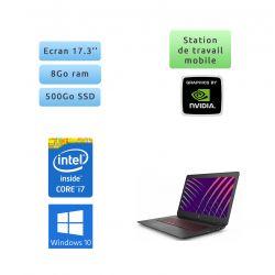 HP OMEN 17-W010NF - Windows 10 - i7 8Go 500Go - GTX 960M - 17.3 - webcam - ordinateur portable gaming