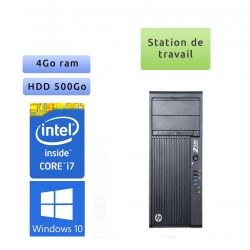 HP Workstation Z230 - Windows 10 - i7 8Go 500go - Ordinateur Tour Workstation
