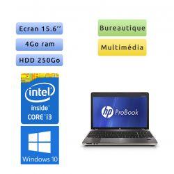 HP ProBook 4530S - Windows 10 - i3 4Go 250Go - 15.6 - Webcam - Ordinateur Portable PC