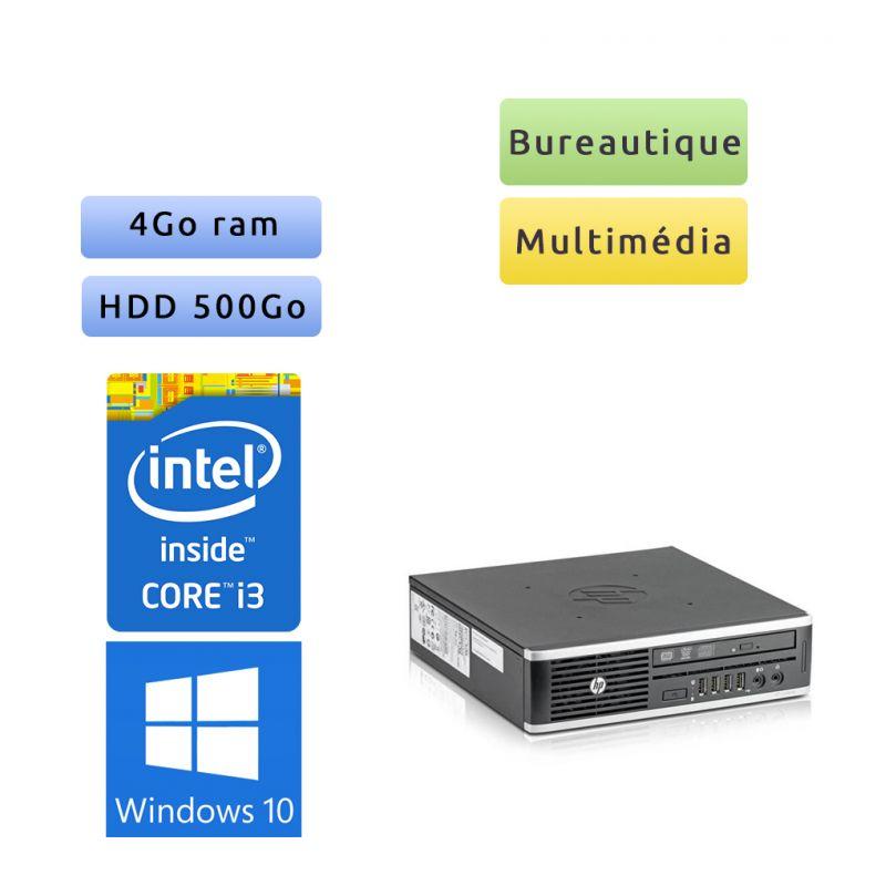 Hp 8300 Elite SFF - Windows 10 - i3 4Go 500Go - PC Tour Bureautique Ordinateur