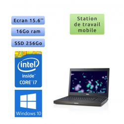 Dell Precision M4800 - Windows 10 - i7 16Go 256Go SSD - 15.6 - Webcam - Station de travail Mobile PC Ordinateur