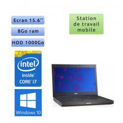 Dell Precision M4700 - Windows 10 - i7 8Go 1To - 15.6 - Webcam - K2000M - Station de travail Mobile PC Ordinateur
