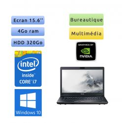 Toshiba Tecra S11 - Windows 10 - i7 4Go 320Go - Webcam - 15.6 - NVS 2100M - Ordinateur Portable