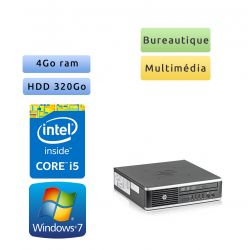 Hp 8300 Elite USDT - Windows 7 - i5 4GB 320GB - PC Tour Bureautique Ordinateur