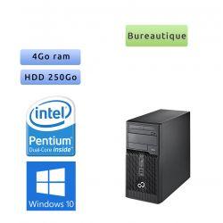 Fujitsu ESPRIMO P400 - Windows 10 - G640 4Go 250Go - Ordinateur Tour Bureautique PC