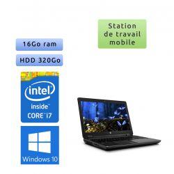 HP Zbook 15 - Windows 10 - i7 16Go 320Go - 15.6 - webcam - Station de travail - Photoshop