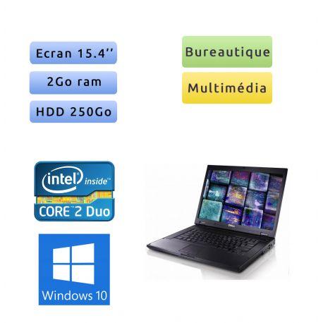 Dell Latitude E5500 - Windows 10 - C2D 2Go 250Go - 15.4 - Ordinateur Portable PC