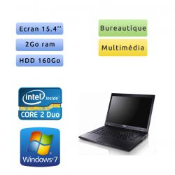 Dell Latitude E5500 - Windows 7 - C2D 2Go 160Go - 15.4 - Ordinateur Portable PC