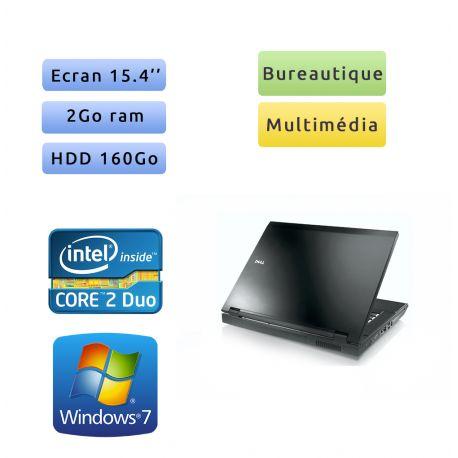 Dell Latitude E5500 - Windows 7 - C2D 2Go 160Go - 15.4 - Ordinateur Portable PC