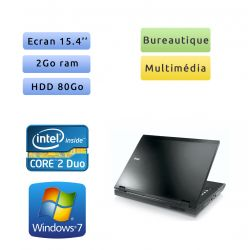 Dell Latitude E5500 - Windows 7 - C2D 2Go 80Go - 15.4 - Ordinateur Portable PC
