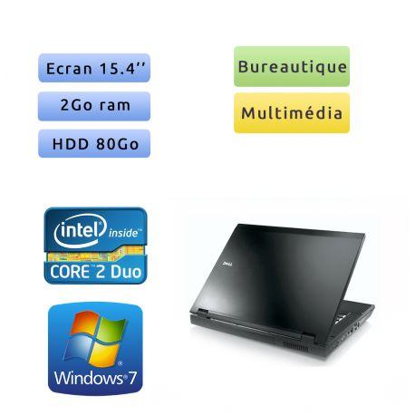 Dell Latitude E5500 - Windows 7 - C2D 2Go 80Go - 15.4 - Ordinateur Portable PC