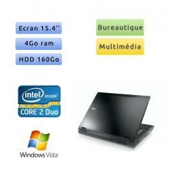 Dell Latitude E5500 - Windows Vista - C2D 4Go 160Go - 15.4 - Ordinateur Portable PC