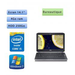 Dell Latitude E5420 - Windows 7 - i5 4GB 250GB - 14.1 - Ordinateur Portable PC