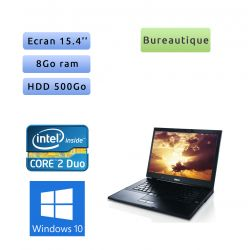 Dell Latitude E6500 - Windows 10 - 2.53 8Go 500Go - 15.4 - Ordinateur Portable PC