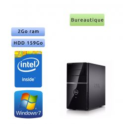 Dell Vostro 220 - Windows 7 - 440 2Go 159Go - PC Tour Bureautique Ordinateur