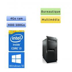 Lenovo ThinkCenter M92p - Windows 10 - i3 4Go 500Go - PC Tour Bureautique Ordinateur