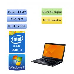Toshiba Tecra A11 - Windows 7 - i3 4Go 320 Go - Webcam - 15.6 - Ordinateur Portable