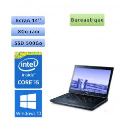 Dell Latitude E6410 - Windows 10 - i5 8Go 500Go SSD - 14.1 - Ordinateur Portable PC