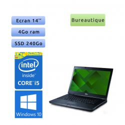 Dell Latitude E6410 - Windows 10 - i5 4GB 240GB SSD - 14.1 - Ordinateur Portable PC