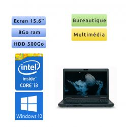 Toshiba Tecra A11 - Windows 10 - i3 8Go 500 Go - Webcam - 15.6 - Ordinateur Portable
