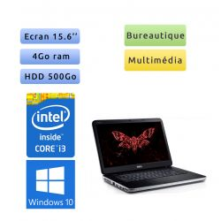 Dell Vostro 2520 - Windows 10 - i3 4GB 500GB - 15.6 - Webcam - Grade B - Ordinateur Portable