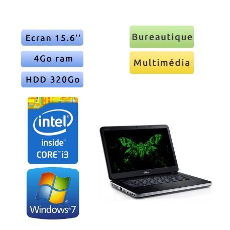 Dell Vostro 2520 - Windows 7 - i3 4GB 320GB - 15.6 - Webcam - Ordinateur Portable