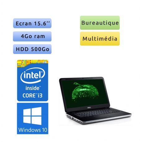 Dell Vostro 2520 - Windows 10 - i3 4GB 500GB - 15.6 - Webcam - Ordinateur Portable