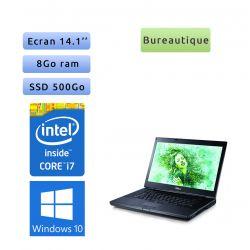 Dell Latitude E6410 - Windows 10 - i7 8Go 500Go SSD - 14.1 - Ordinateur Portable PC