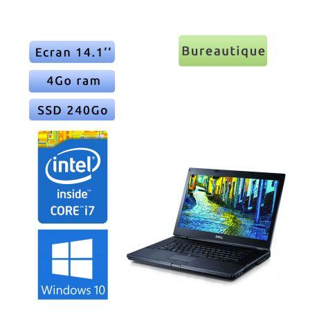 Dell Latitude E6410 - Windows 10 - i7 4GB 240GB SSD - 14.1 - Ordinateur Portable PC