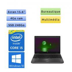 "PC portable HP Windows 10 - i5 4GB 240GB SSD 15.6"" - Ordinateur"