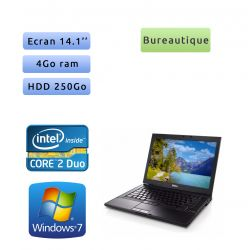 Dell Latitude E6400 - Windows 7 - C2D 4Go 250Go - 14.1 - Ordinateur Portable PC