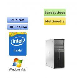 HP Compaq DC7900 - Windows Vista - C2D 2GB 160GB - Ordinateur Tour