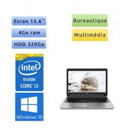 HP ProBook 650 G1 - Windows 10 - i3 4GB 320GB - 15.6 - Ordinateur Portable PC
