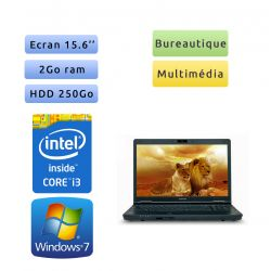 Toshiba Tecra A11 - Windows 7 - i3 2Go 250Go - Webcam - 15.6 - Ordinateur Portable