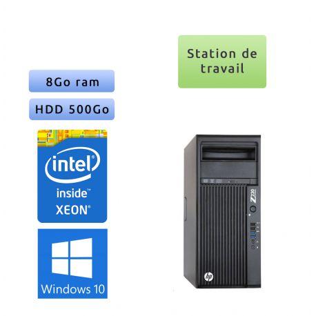 HP Workstation Z230 - Windows 10 - E3-1225v3 8GB 500GB - Ordinateur Tour Workstation PC